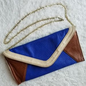 Steve Madden Faux Leather Color Block Crossbody